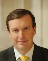 Official portrait of senator Chris  Murphy