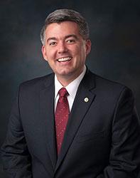 Official portrait of senator Cory  Gardner