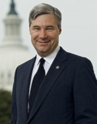 Official portrait of senator Sheldon  Whitehouse